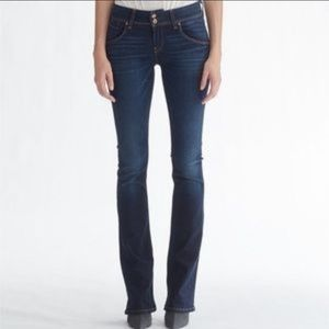 Hudson Mid-rise Baby Boot Jeans